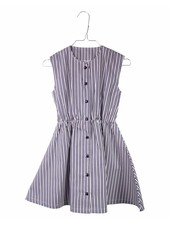 dress Ingeborg - vintage striped navy