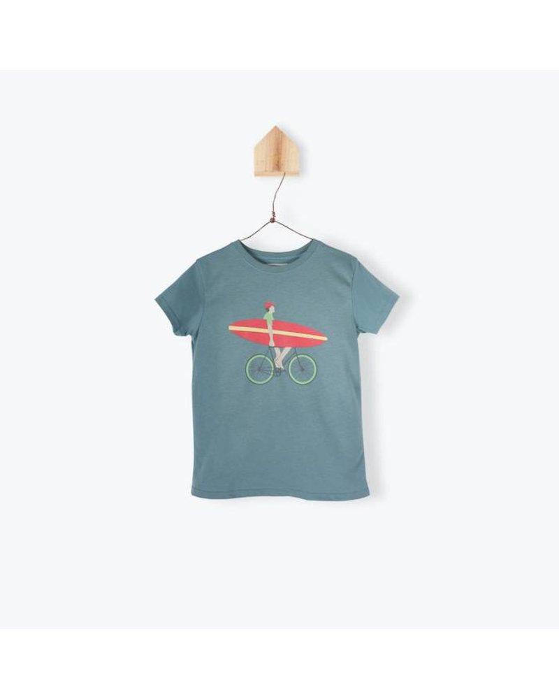 T-shirt - Vélo Petrole