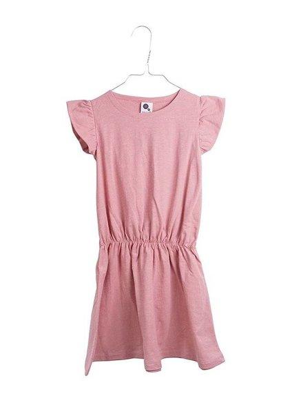 dress ruffle - rose