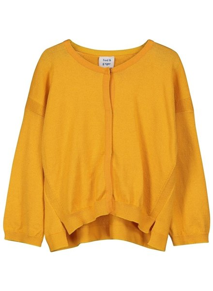 OUTLET // cardigan - Syphonia Sunflower