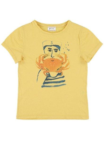 Tshirt - Flip crab camel