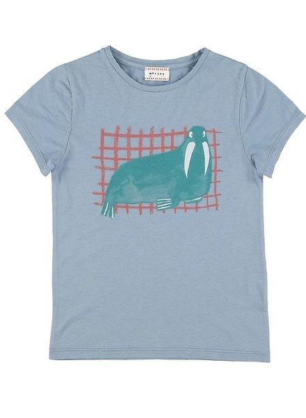 Tshirt - Flip walrus steel
