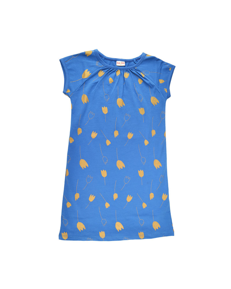 Summerdress - Tulip Gold darkblue