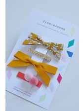Hair accessories - color set moutarde