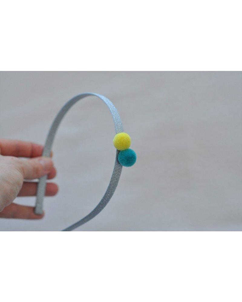 Hair accessories - diadeem 2 pompons ipanema