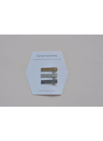 Hair accessories - trio glitter mini