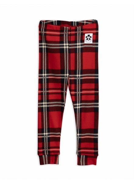 OUTLET // leggings Check - red