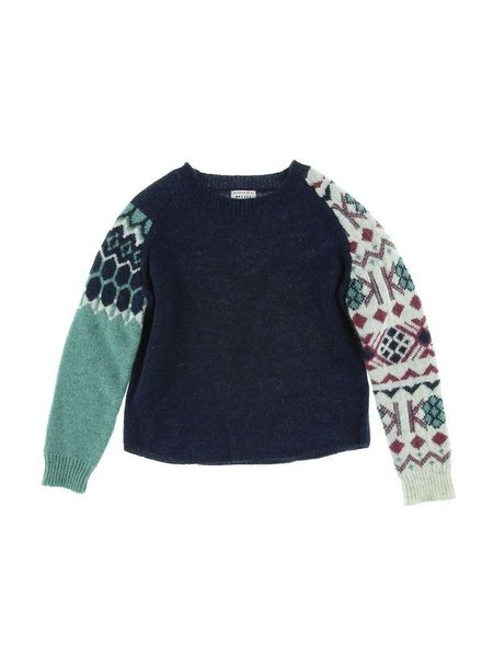 OUTLET // pull boys Egon - navy