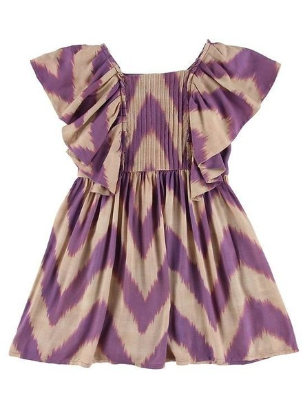 OUTLET // dress Florence wave lila