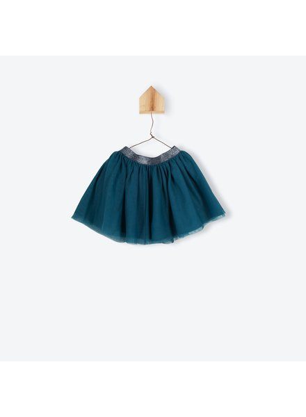OUTLET // jupe tulle - petrole