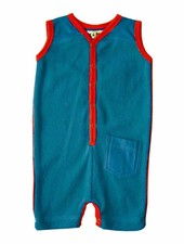 OUTLET // romper terry - blue