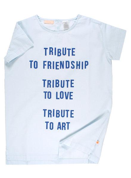 OUTLET // dress tribute light blue