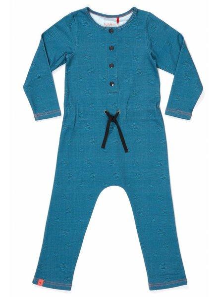 OUTLET // Hekla jumpsuit - moroccan blue