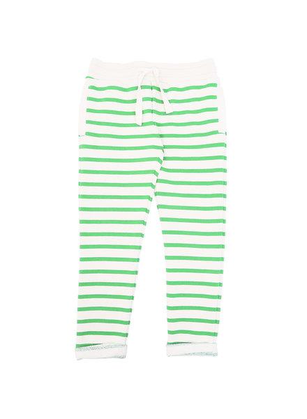 OUTLET // broek - rayure vert