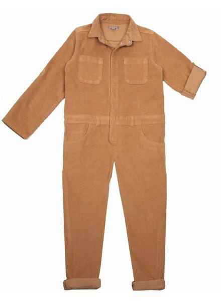 OUTLET // overall - caramel