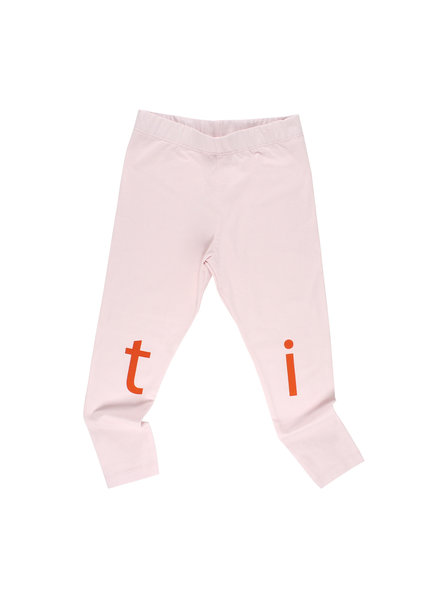 OUTLET // pants - T I N Y pale pink / red