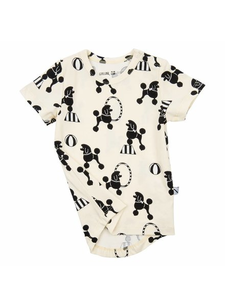 OUTLET // t-shirt - poodles