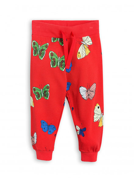 OUTLET // sweatpants butterflies - red