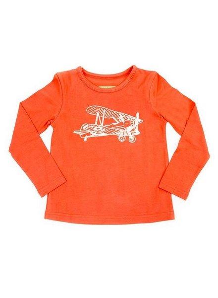 OUTLET // t-shirt Henri - hazelnut plane