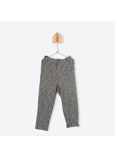 OUTLET // pants - jacquard