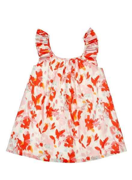 OUTLET // dress - coral