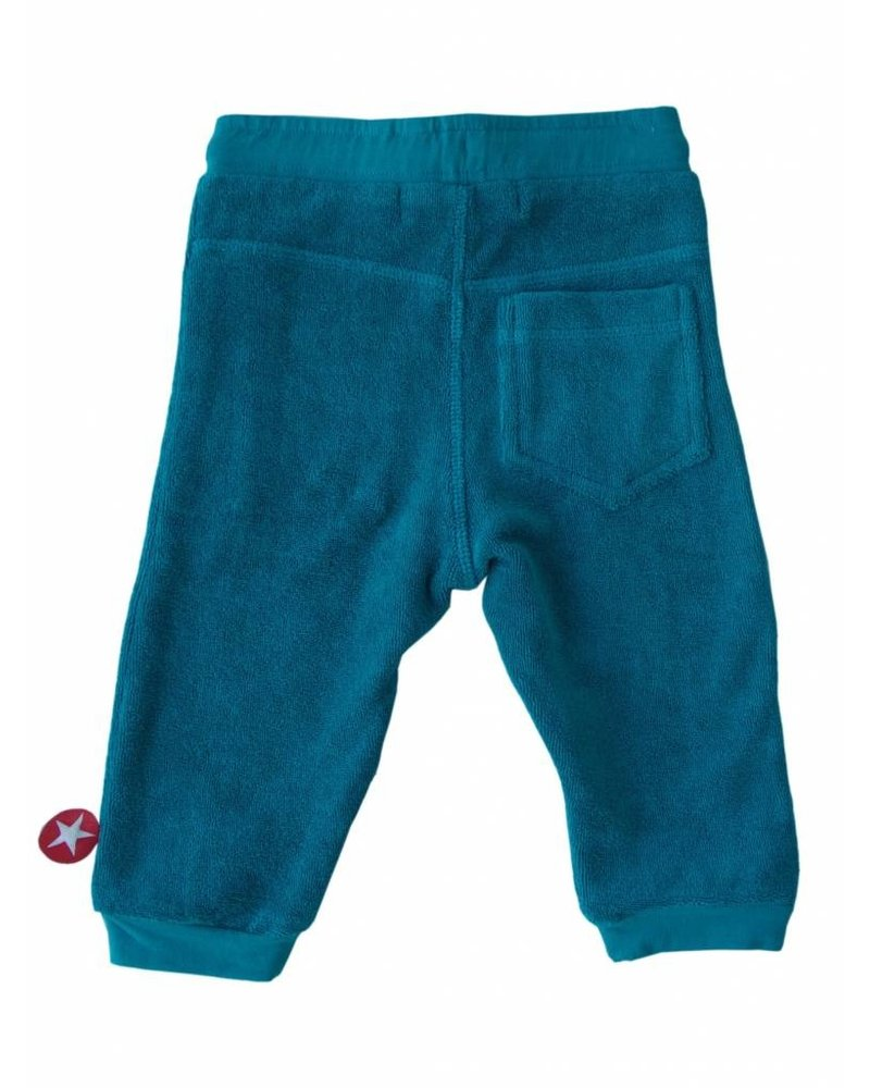 OUTLET // trousers terry - blue