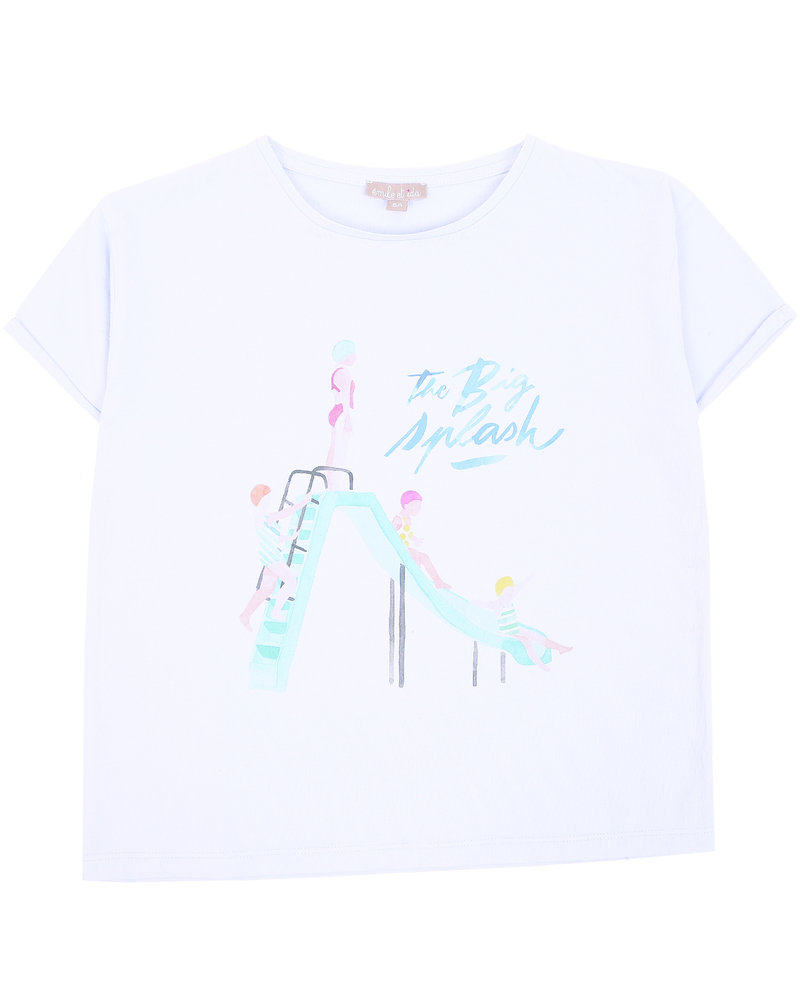 OUTLET // t-shirt - splash ciel