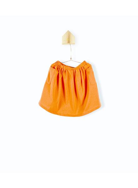 OUTLET // jupe poches - orange
