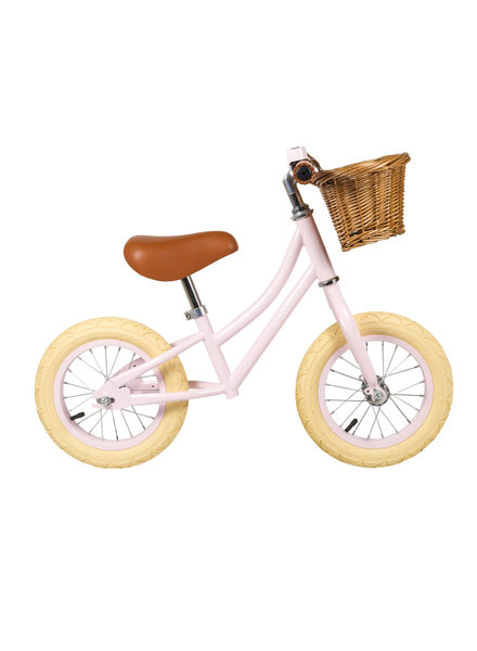 banwood loopfiets Banwood - First Go! Pink