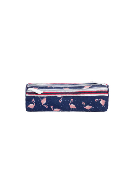 Pencil Case Double Flamingo