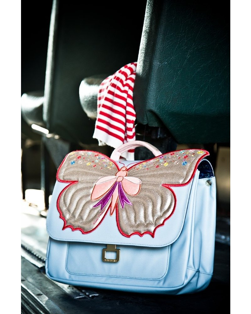 Boekentas Mini Butterfly Gold