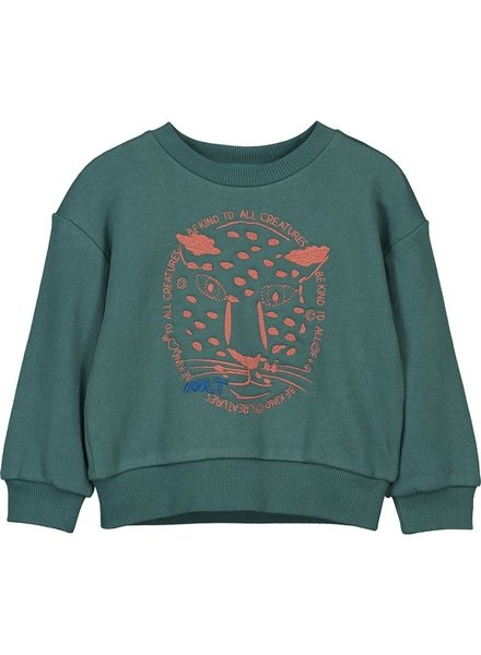 sweater - Meno green