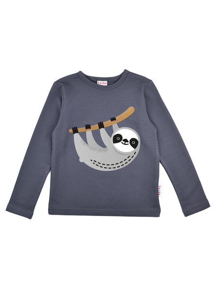 OUTLET // Longsleeve boys -  Sloth Dark Grey