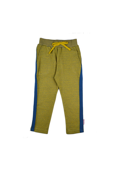 OUTLET // Stripe pant - Bicolor Mustard