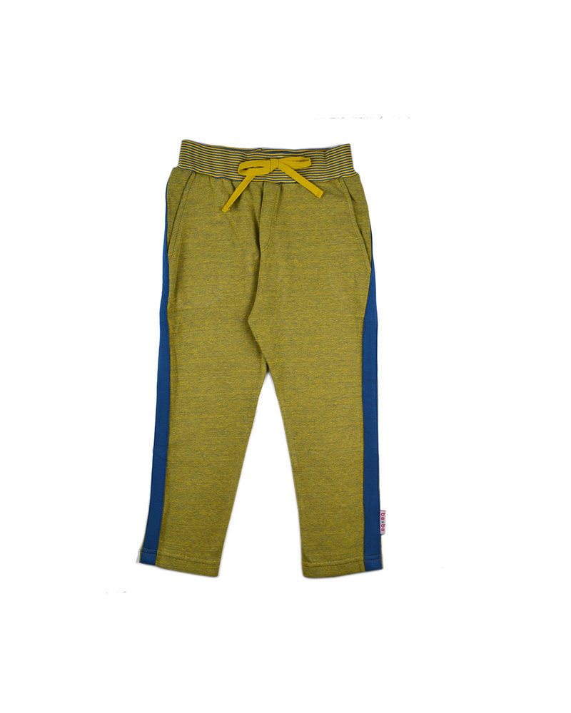 OUTLET // Stripe pant - Bicolor Mustard