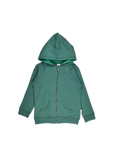 Hoodie - Bicolor Green