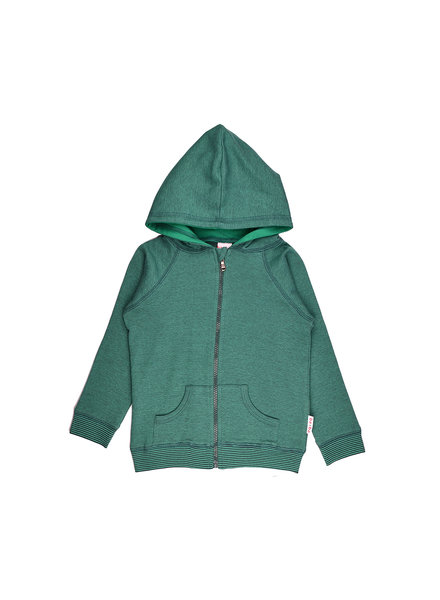 OUTLET // Hoodie - Bicolor Green