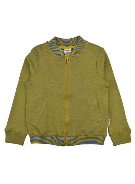Bomber jacket - Bicolor Mustard