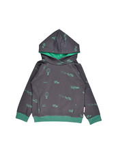 OUTLET //Hooded sweater - Airplanes