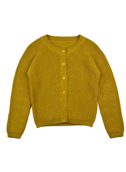 Cardigan girls - Mustard