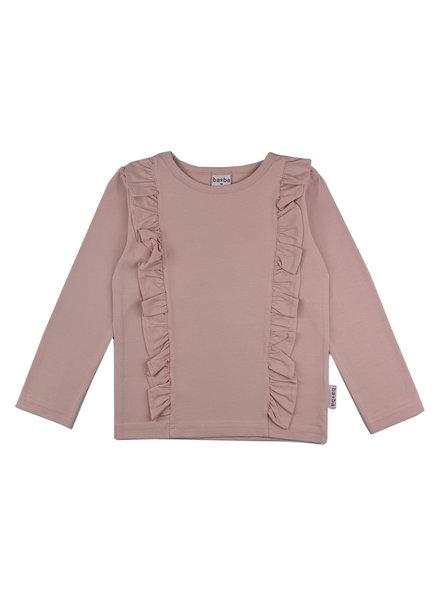 OUTLET // Ruffle shirt - Pink