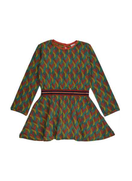 Elastic dress - Multicolor