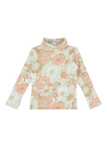 Turtleneck - Korgy Bloom Rose