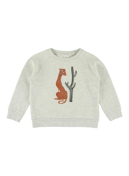 Sweater - Bass Puma Greymelange