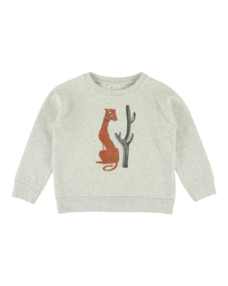 Sweater - Bass Puma Greymelange