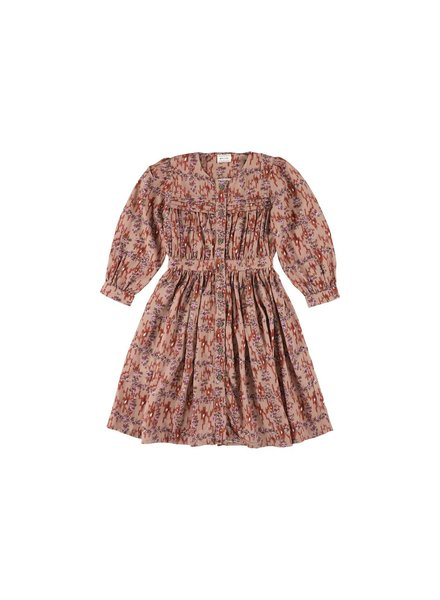 OUTLET // Dress - Karol Ikat Brick