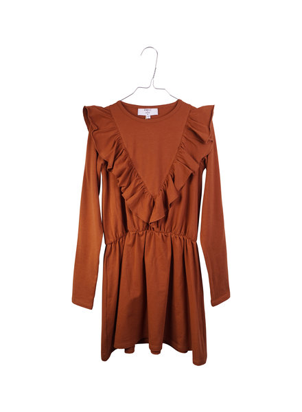 Dress - Agnes Mocha Bisque