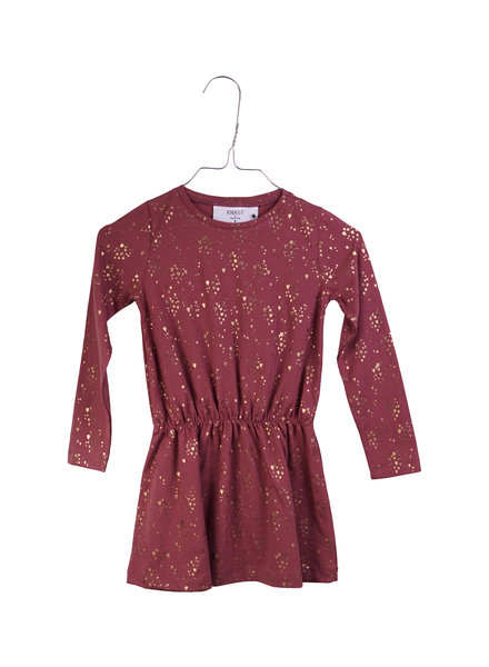 OUTLET // Dress - Kaja Red Plum