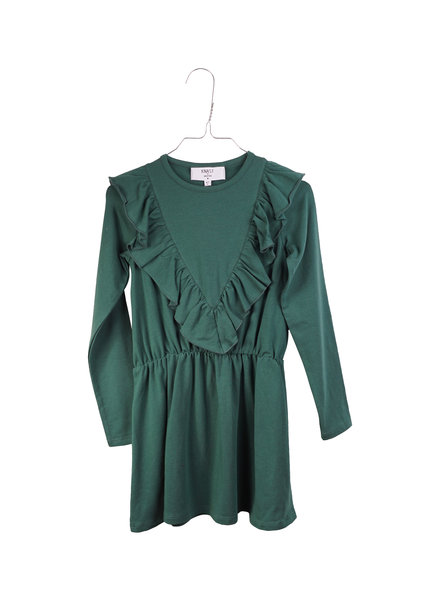 Dress - Agnes Posy Green