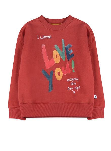 AmmeHoela Sweater - Rocky Warm Red